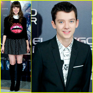 Hailee Steinfeld & Asa Butterfield: 'Ender's Game' Madrid Photo Call