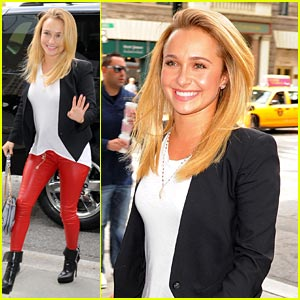 Hayden Panettiere Steps Out after Engagement Confirmation