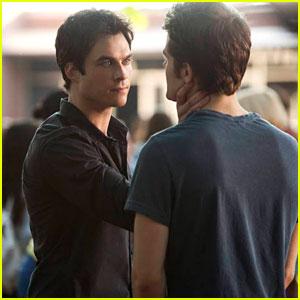 Ian Somerhalder & Paul Wesley: The Vampire Diaries 'True Lies' Episode Stills!