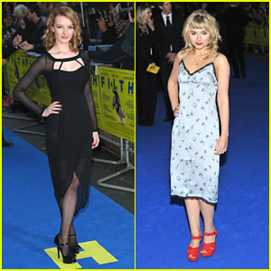 Imogen Poots & Dakota Blue Richards: 'Filth' Premiere in London