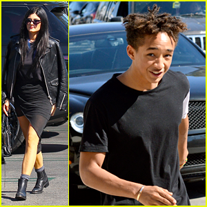 Jaden Smith Has Lunch with Friends, Kylie Jenner Steps Out with Mom Kris