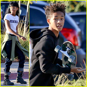 Jaden & Willow Smith: Malibu Country Mart Siblings!