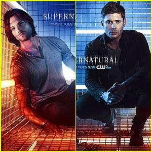 Jared Padalecki & Jensen Ackles: New 'Supernatural' Promo Posters!
