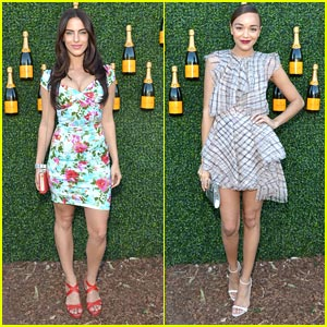 Jessica Lowndes & Ashley Madekwe: Classic Polo Cuties!