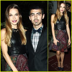 Joe Jonas & Blanda Eggenschwiler: 'Mademoiselle C' Party Pair