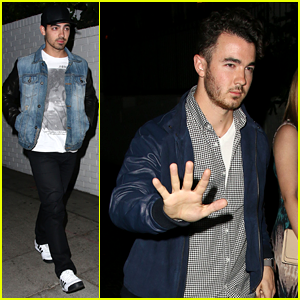 Joe Jonas: Chateau Marmont Meeting with Kevin!