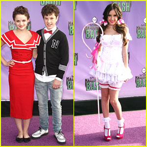 Joey King: The Hub's Halloween Bash with Ryan Newman & Nolan Gould