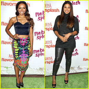 Jordin Sparks & Kat Graham: Aquafina FlavorSplash Launch