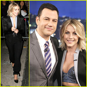 Julianne Hough: 'Jimmy Kimmel Live' Lady
