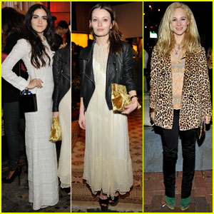 Juno Temple & Isabelle Fuhrman: Isabel Marant BBQ Party