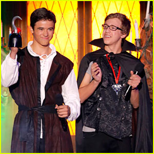 Keean Johnson & Nick Purcha: 'Spooksville' Premieres Saturday!