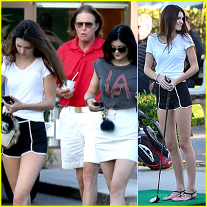 Kendall & Kylie Jenner Step Out After Parents Separate