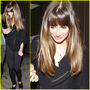 Lea Michele: Friends Night Out in WeHo!