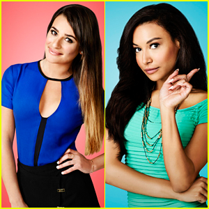 Lea Michele & Naya Rivera: 'Glee' Season 5 Portraits!