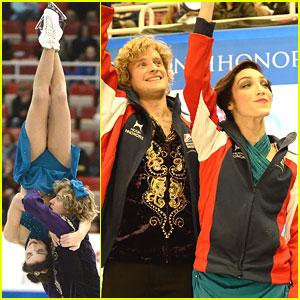 Meryl Davis & Charlie White: Gold at Skate America 2013