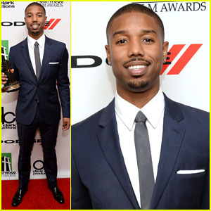 Michael B. Jordan: Hollywood Film Awards 2013