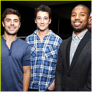 Michael B. Jordan & Miles Teller: 'That Awkward Moment' Fan Event!