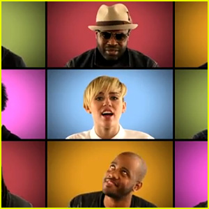 Miley Cyrus: 'We Can't Stop' Acapella on 'Jimmy Fallon'!
