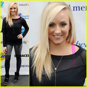 Nastia Liukin: Swim for Relief in NYC