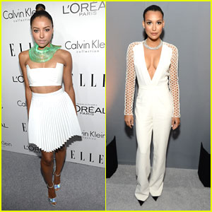 Naya Rivera & Kat Graham: Elle's Women In Hollywood Celebration 2013