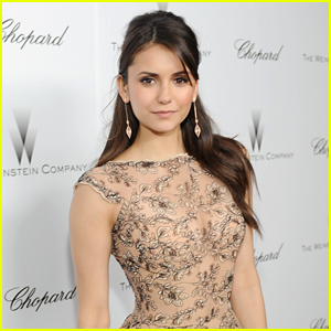 Nina Dobrev: Covers Up in Support of Obamacare