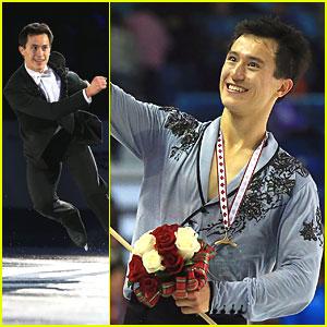 Patrick Chan Wins Gold at Skate America 2013