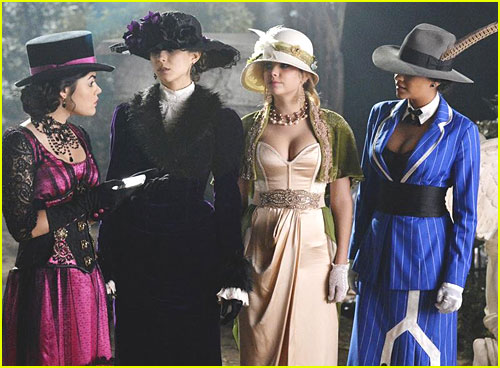 Pretty Little Liars Halloween Special Costumes Pretty Little Liars Halloween