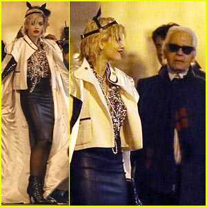 Rita Ora: Photo Shoot with Karl Lagerfeld!