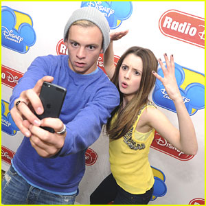 Ross Lynch & Laura Marano Promote 'Austin & Ally' Season Premiere on Radio Disney