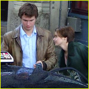Shailene Woodley & Ansel Elgort: 'Fault in Our Stars' Amsterdam Filming