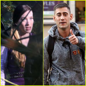 Sophie Lowe: 'Once Upon a Time in Wonderland' Set with Michael Socha!