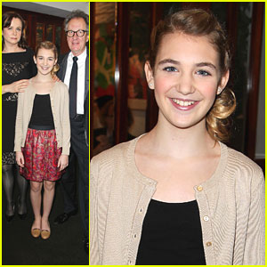 Sophie N�lisse: 'The Book Thief' Luncheon