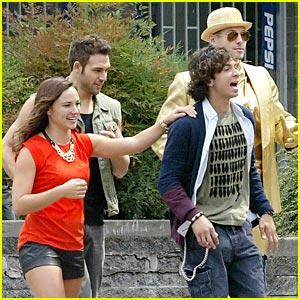 Adam Sevani & Ryan Guzman Film 'Step Up 5'