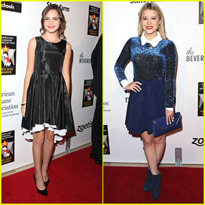 Bailee Madison & Taylor Spreitler: Hero Dog Awards 2013