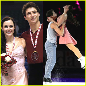Tessa Virtue & Scott Moir Grab Gold at Skate Canada 2013