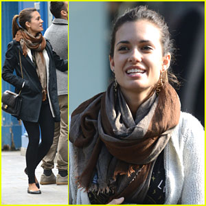 Torrey DeVitto: Paris Shopping After Filming in Africa