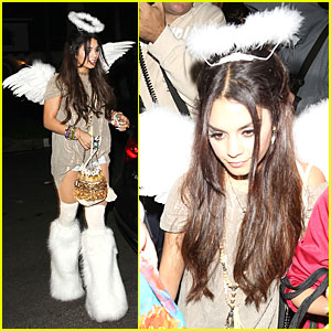 Vanessa Hudgens: Casamigos Halloween Party Angel!