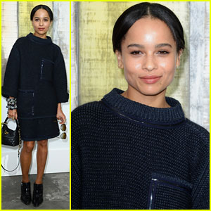 Zoe Kravitz: 'Chanel' Paris Fashion Show