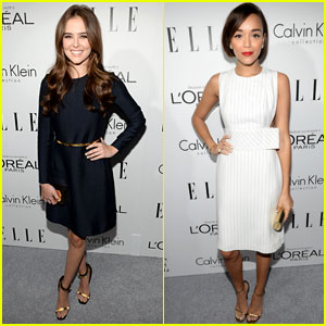Zoey Deutch & Ashley Madekwe: Elle's Women in Hollywood Celebration 2013