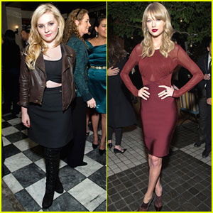 Abigail Breslin & Taylor Swift: Weinstein Holiday Party Pair
