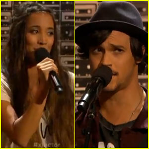 Alex & Sierra: 'X Factor' Top 12 Performance - Watch Now!