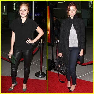 Aly & AJ Michalka: 'How I Live Now' Premiere