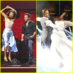 Corbin Bleu & Amber Riley: 'DWTS' After Party Pics!
