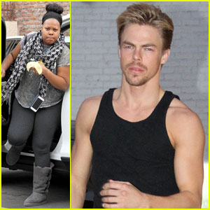 Amber Riley & Derek Hough: Our 'DWTS' Finale Dance is a Surprise!