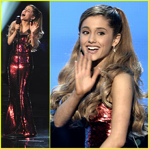 Ariana Grande: AMAs 2013 Performance - Watch Now!