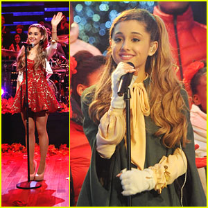 Ariana Grande: Rockefeller Tree Lighting & Late Night with Jimmy Fallon!