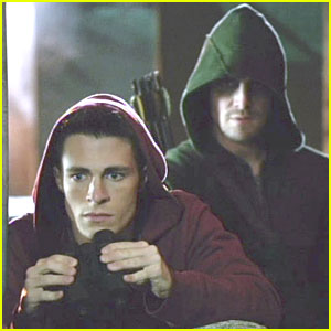 Colton Haynes: 'Keep Your Enemies Closer' on 'Arrow' - See The Pics & Clip!