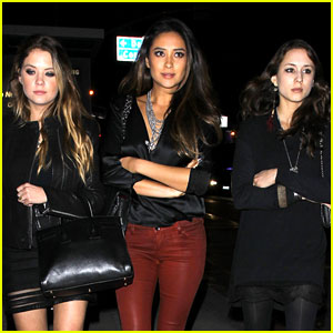 Ashley Benson & Shay Mitchell: 'PLL' Wrap Party with Troian Bellisario