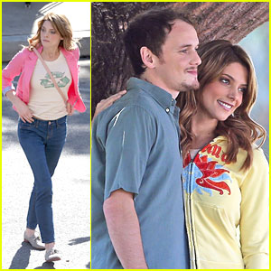 Ashley Greene & Anton Yelchin are 'Burying The Ex'
