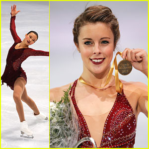 Ashley Wagner Wins Gold at Trophee Eric Bompard